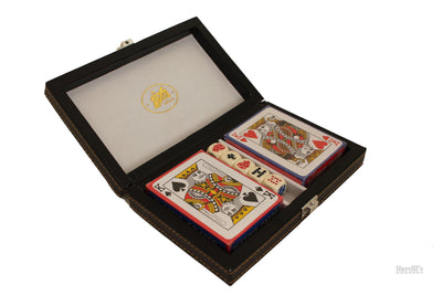 Playing cards and box