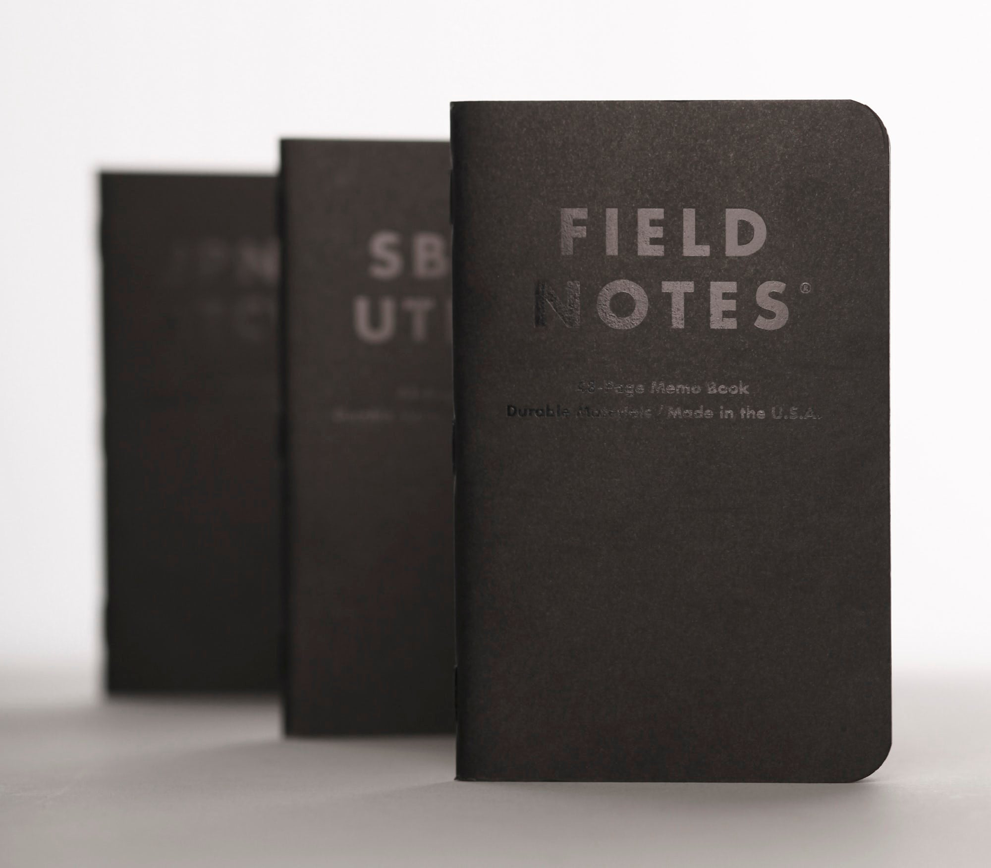 Field Notes Clandestine 3 Pack