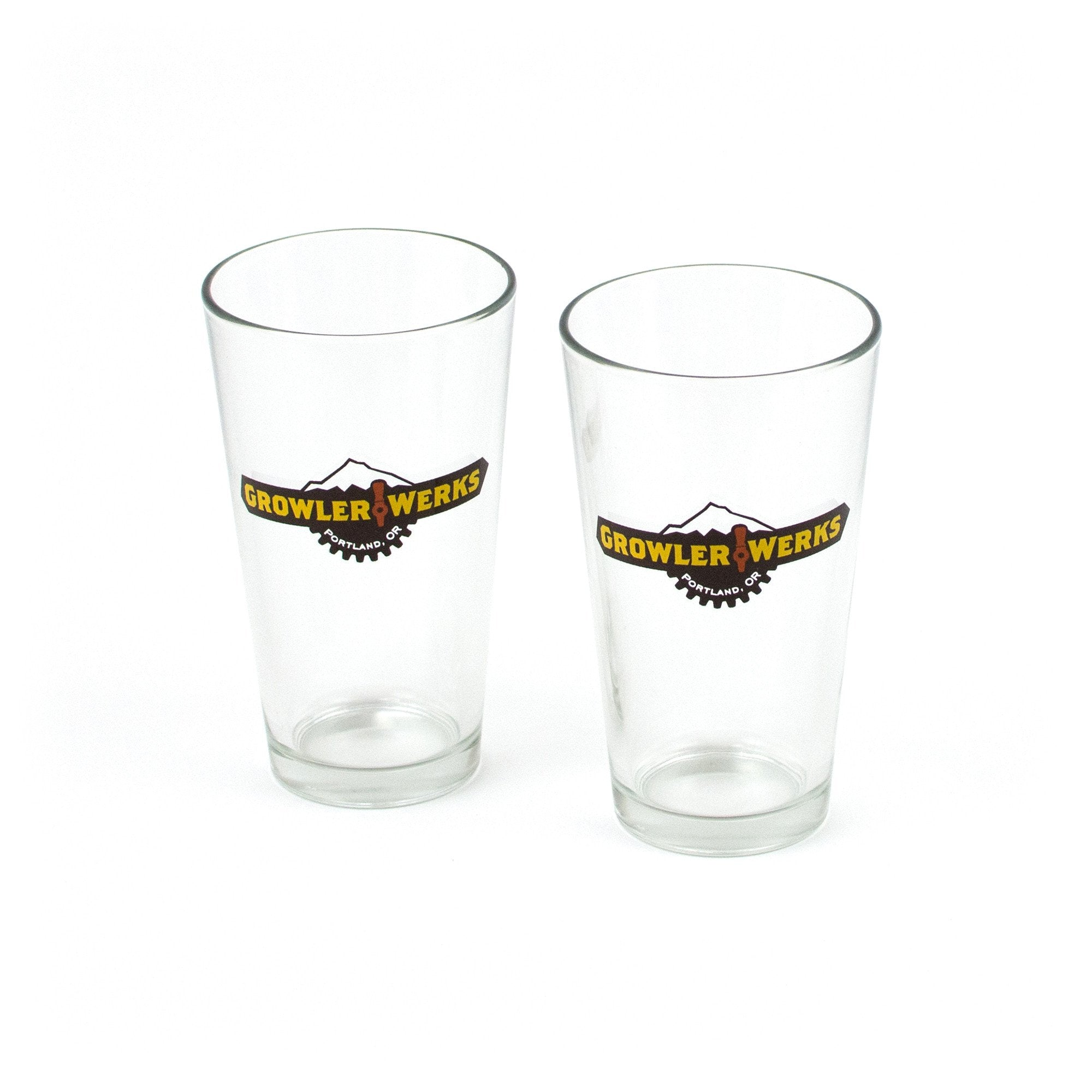 GrowlerWerks Pint Glasses