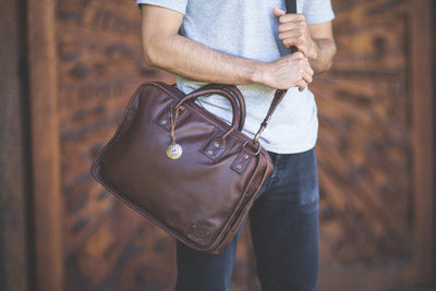 Will Leather Hank Satchel