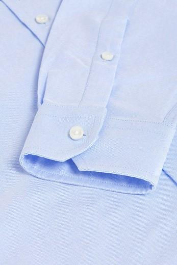 Woodyroo Oxford Shirt Pale Blue