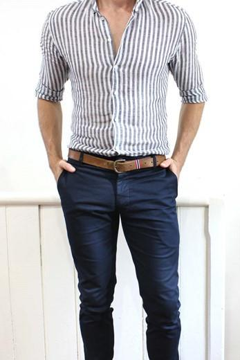 WoodyRoo Cappa Chinos Navy
