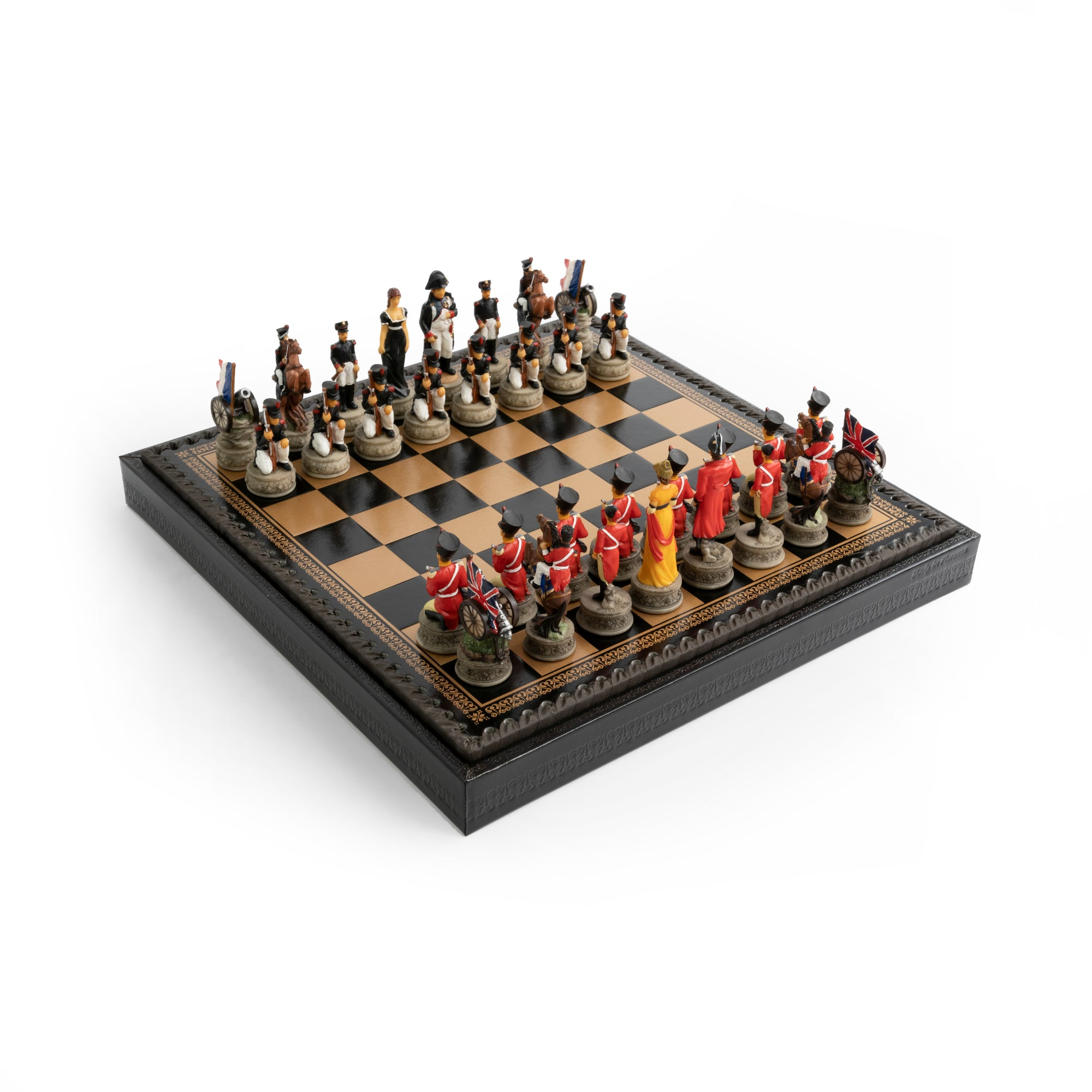 Italfama Battle of Waterloo Theme Chess Set
