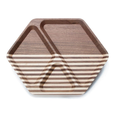 vMaxx & Unicorn Hex Tray Walnut