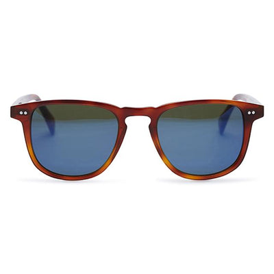 Pacifico Optical Blair - Whiskey Havana with Midnight Blue Mirror Coated Green Lens