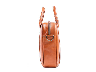 Danny P Leather Messenger Bag Tan