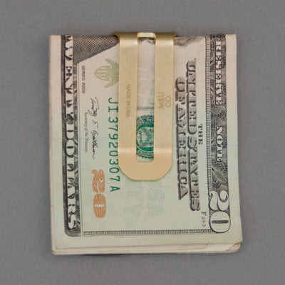 Maxx & Unicorn Money Clip Brass