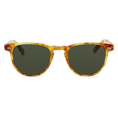 Pacifico Optical Campbell - Blonde Havana with Green Lens