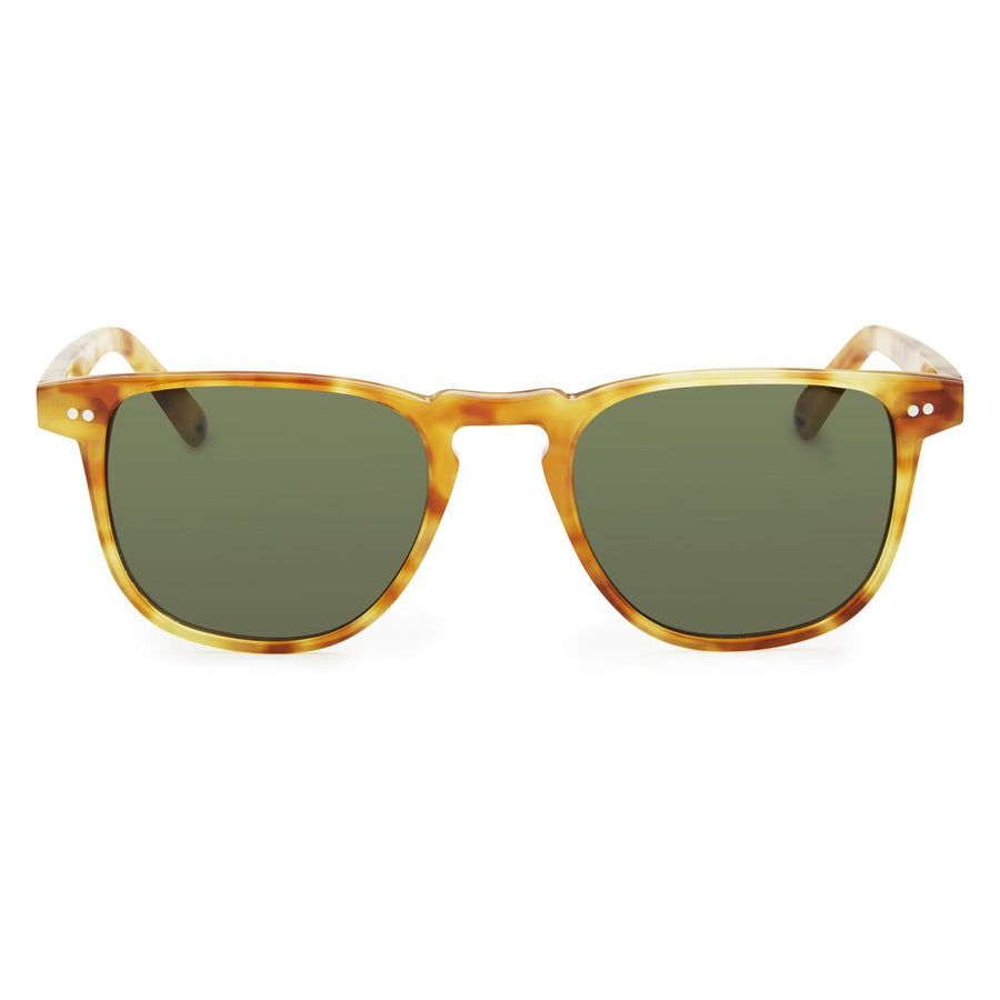 962041dce51 Pacifico Optical Blair - Blonde Havana with Green Lens