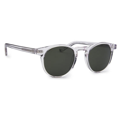 Pacifico Optical Buckler - Crystal with Green Lens
