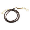 Pacifico Optical Glasses Cord | Brown Weaved Leather