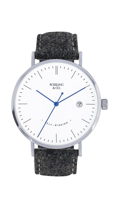 Rossling & Co. Classic Midnight Mesh 40mm Glencoe