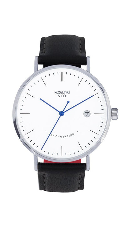 Rossling & Co. Classic Midnight Mesh 40mm Rogart