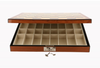 "Dal Rossi 16"" Staunton Chess Set in Walnut Finish with Compartments"