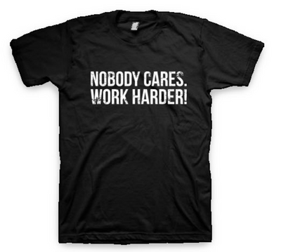 "Gallantoro ""Nobody Cares"" Tee"