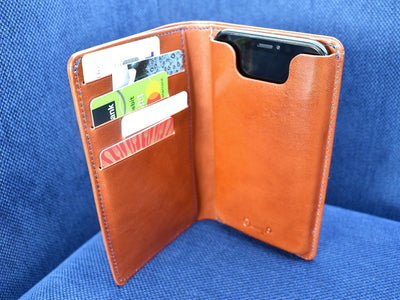 Danny P. Leather Wallet and iPhone X/XS Case