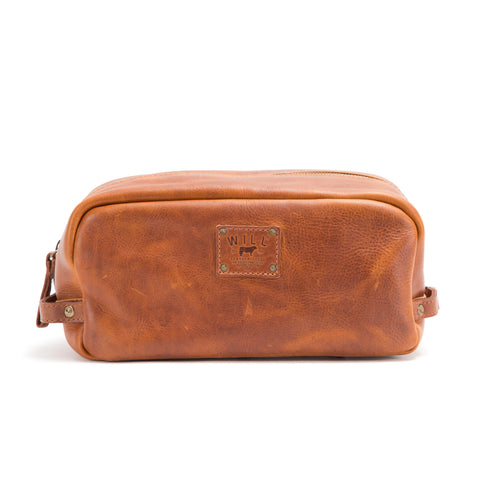 Will Leather Grady Leather Travel Kit
