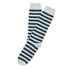American Trench Rugby Stripes Socks Aluminium