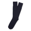 American Trench Supima Cotton Dress Rib Socks Black