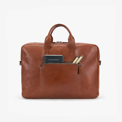 This Is Ground Framework Briefcase Cognac