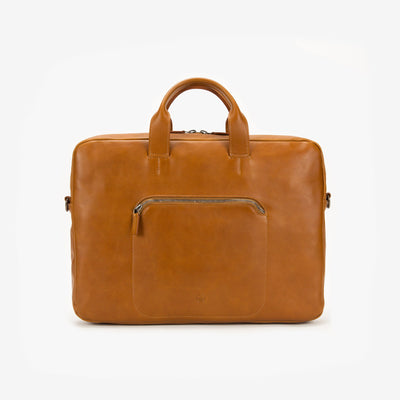 This Is Ground Framework Briefcase Toffee Tan