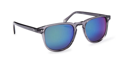 Pacifico Optical Blair - Slate with Emerald Mirror Coated Grey Lens