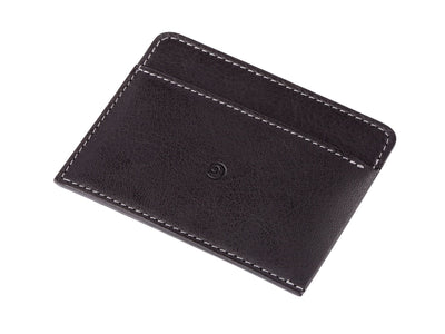 Danny P. Leather Card Wallet Black