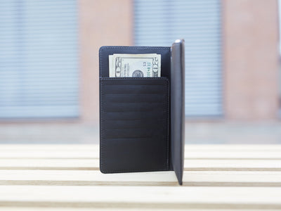Danny P Leather Wallet and iPhone 6 PLUS Case Black