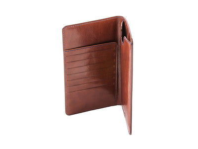 Danny P Leather Wallet and iPhone 6 PLUS Case Brown