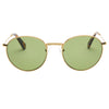 Pacifico Optical Dover - Vintage Gold with Green Lens