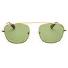 Pacifico Optical South 2 - Vintage Gold with Green Lens