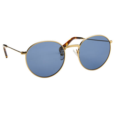 Pacifico Optical Dover - Vintage Gold with Polarised Aqua Lens