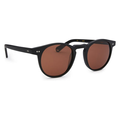 Pacifico Optical Buckler - Matte Black with Copper Lens