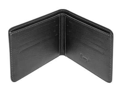 Danny P. Slim Leather Wallet Black