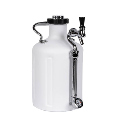 GrowlerWerks uKeg 128 Matte White