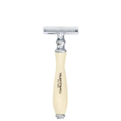Truefitt and Hill Wellington Double Edged Safety Razor  Ivory