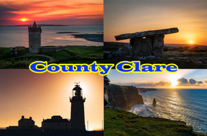 Postcards County Clare - Set of 3 cards