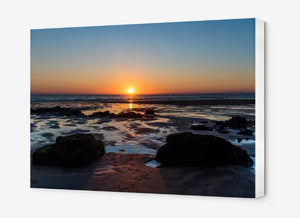 Fanore Beach Sunset - Canvas Print