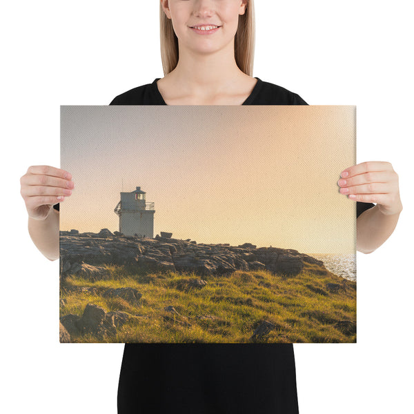 Black Head Lighthouse - Canvas