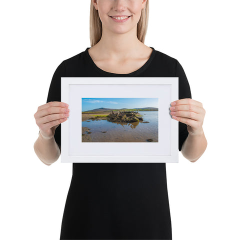 Shipwreck - Matte Paper Framed Poster With Mat