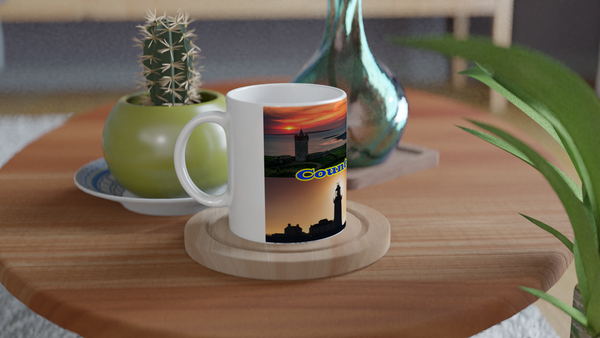 County Clare - White Ceramic Mug