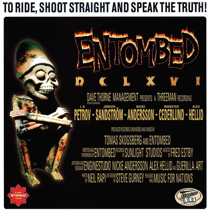 Entombed - To Ride, Shoot Straight, and Speak The Truth - 1997