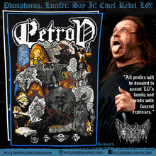 Load image into Gallery viewer, LG Petrov - Memorial Backpatch & Sticker Set