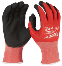 Load image into Gallery viewer, MILWAUKEE 4932471417 CUT LEVEL 1 DIPPED GLOVES - SIZE L