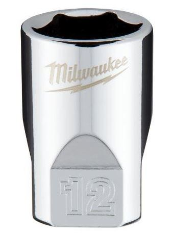 Milwaukee 4932478342 3/8in DRIVE Metric 12MM Standard Socket