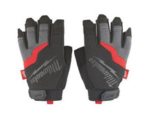 Load image into Gallery viewer, MILWAUKEE 48229743 FINGERLESS WORK GLOVES - SIZE XL