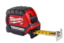 Load image into Gallery viewer, MILWAUKEE 4932464599 5M GEN3 MAGNETIC TAPE MEASURE