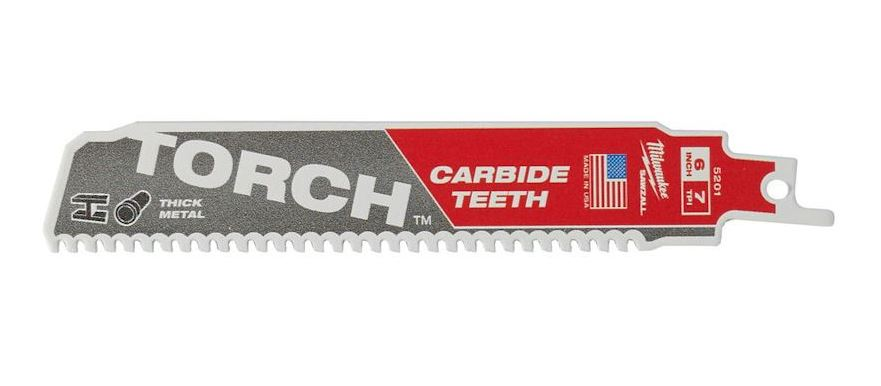 MILWAUKEE METAL TORCH CARBIDE DEMOLITION SAWZALL BLADE