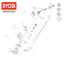 Load image into Gallery viewer, RYOBI R18TPS CORDLESS TELESCOPIC POWER SCRUBBER