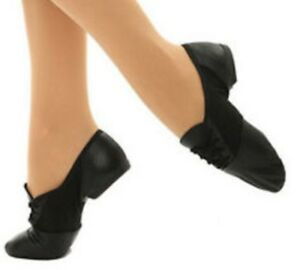 Capezio - 358C - Black, Tie Jazz Oxford..CHILD